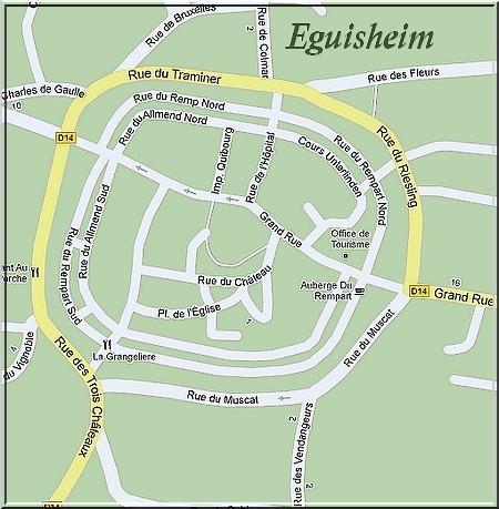 PLAN DE EGUISHEIM