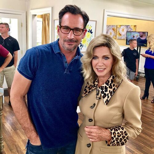 04/07/2017 :Donna dans l'émission''Home and family''.