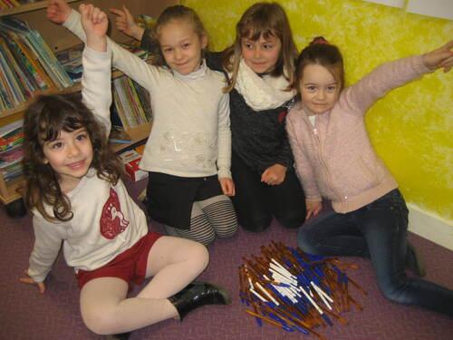 Mercredi 28 mars:fête du 100ème jour de classe!