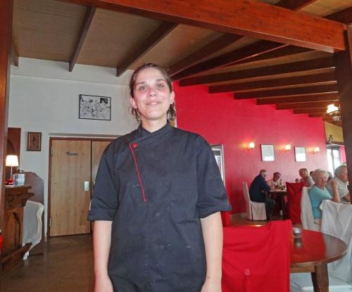 """Encore un délicieux menu au restaurant """"Côté Seine"""" à Montliot..."""
