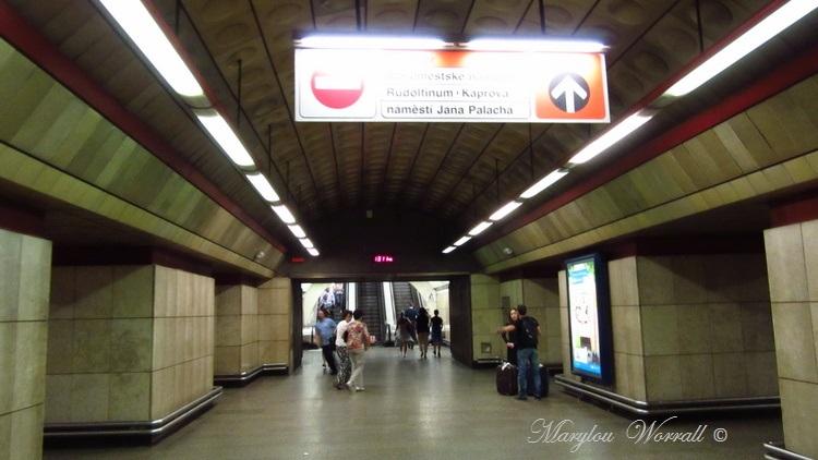 Prague : Le métro