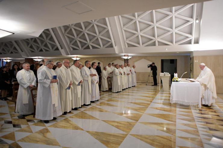 Sainte-Marthe 30/10/2017 © L'Osservatore Romano