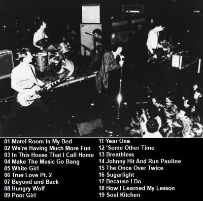 Le Choix des Lecteurs # 140: X - Park West Chicago - 7 octobre 1983