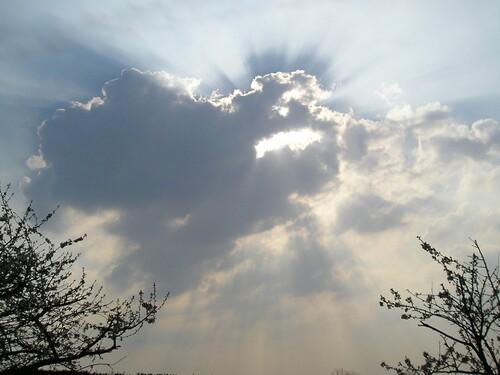 Soleil caché