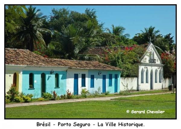 La ville historique de Porto Seguro