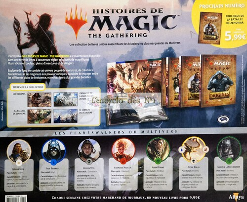 N° 1 Histoires de magic the gathering - Test