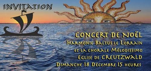 Concert de Noel Creutzwald le 18 décembre 2011