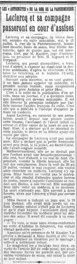 Leclercq et sa compagne passeront en cour d'assises (Le Petit Parisien 21 juillet 1912).jpg
