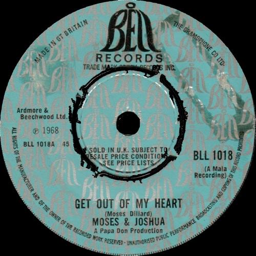 1967 : Single SP MaLa Records MALA 598 [ US ]