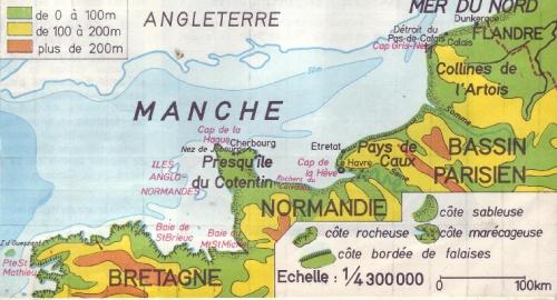 NORMANDIE, LA MANCHE,  Voyages (Rubrique)