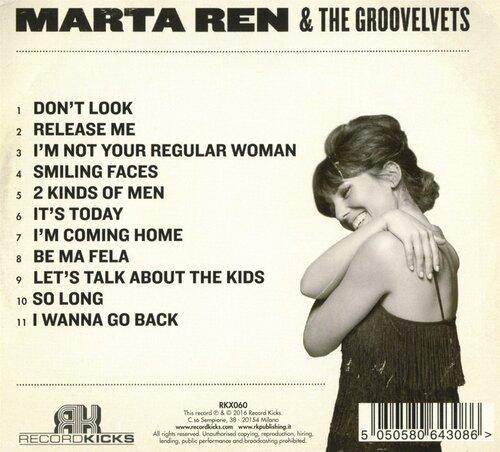 """Marta Ren & The Groovelvets : CD """" Stop Look Listen """" Record Kicks RKX060 [ IT ]"""