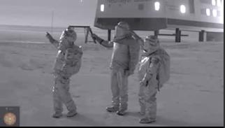 Evènements étranges en Antarctique!