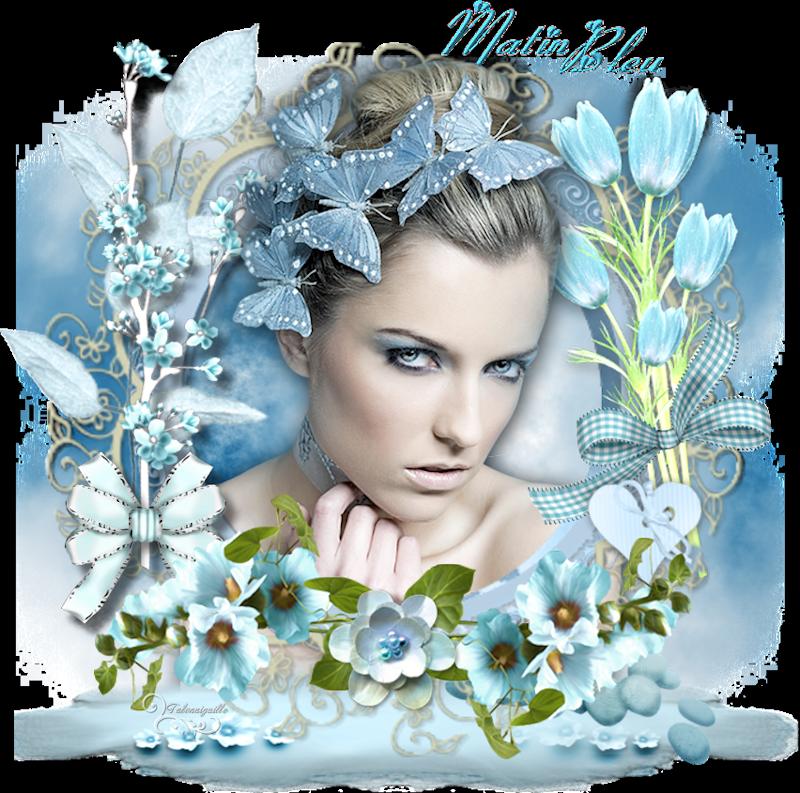 *** Matin bleu  ***