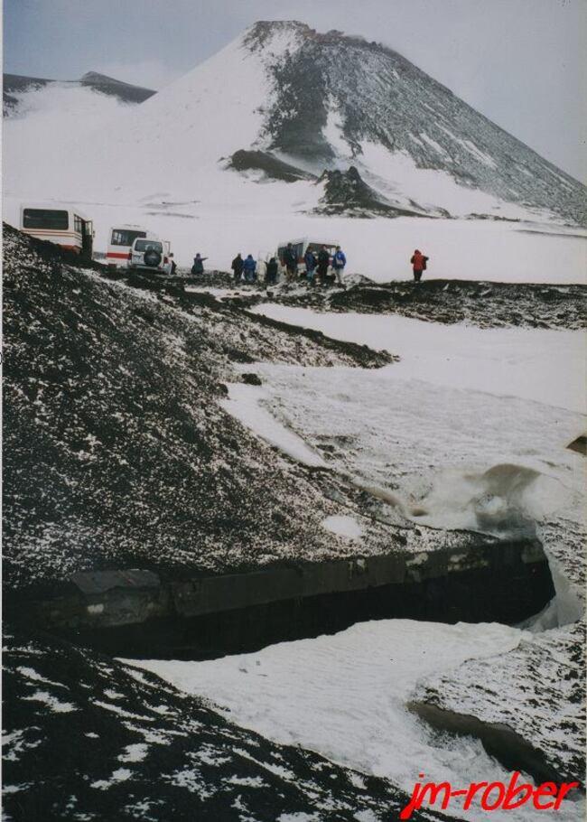 Sicilele 26-10-2013: une nouvelle éruption de l'Etna ou localement appelé «Mongibello»