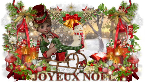kit modulable noël 2 kiki