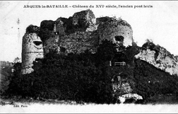 LES REMPARTS D'ARQUES-LA-BATAILLE ( Seine-Maritime)
