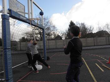 Basket premier entrainement !
