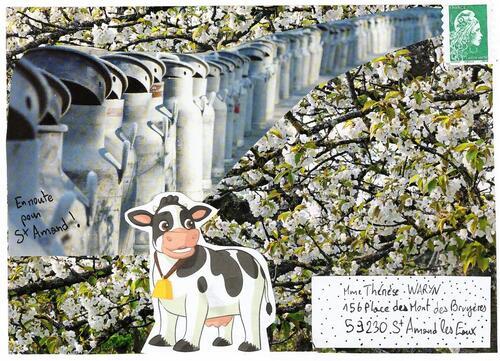 Art postal envoyé à Thérèse