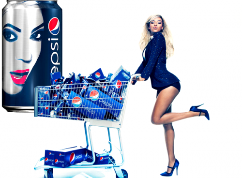 Beyonce : Contrat avec Pepsi et photo promotionelle !