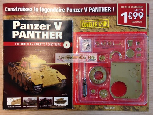 N° 1 Construisez le Panzer V Panther - Test