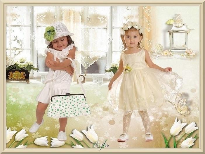 Créations de 3 petites Clochettes : Roselie, Sylou, Mamievette !