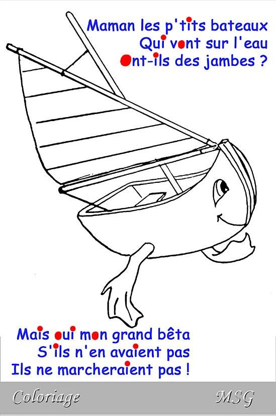 Maman les p'tits bateaux