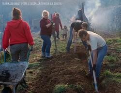 Le Bateleur : chantier participatif