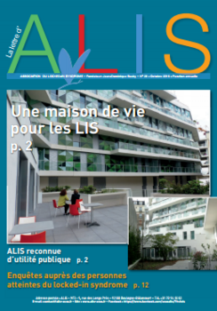 Parution de la 28e Lettre d'ALIS  (association du Locked in Syndrome)