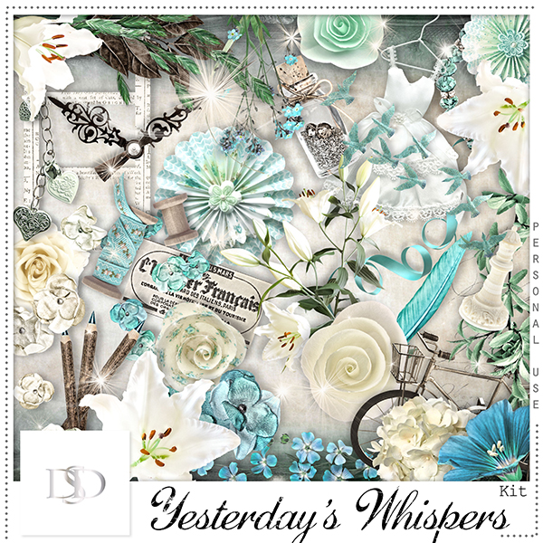 Yesterday's Whispers Kit