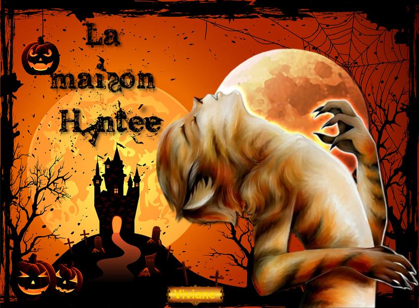 La maison hantée d ' Halloween