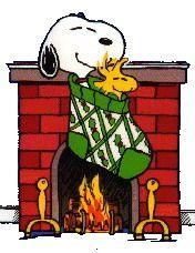 Stocking Snoopy/Woodstock