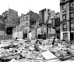 Destruction de Montparnasse