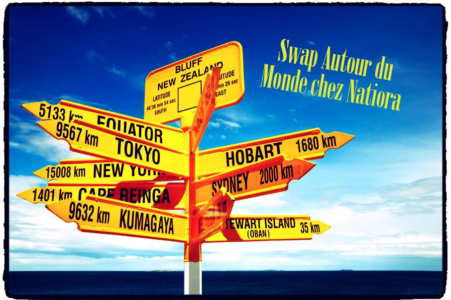 swap autour du monde