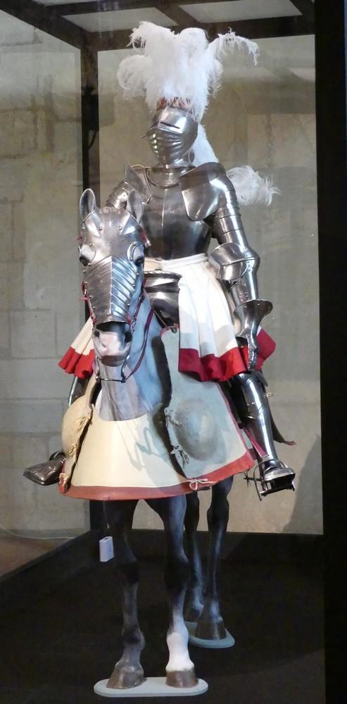 Cité Royale de Loches et chevaliers...