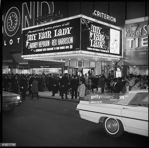 criterion new york my fair lady box office usa 1964