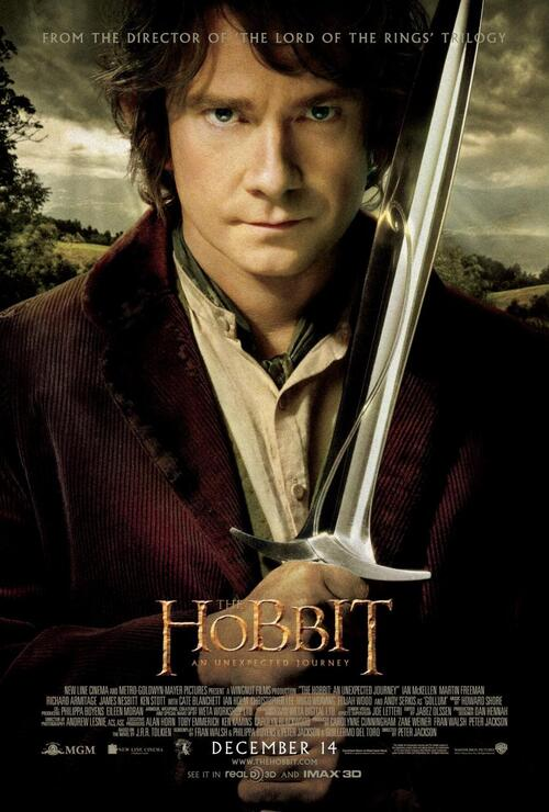 "Bonsoir , a l'honneur : "" The hobbit """