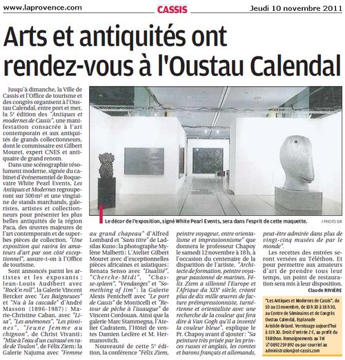 Arts & antiquités ont rendez-vous à l'Oustau. Jusqu'à dimanche !