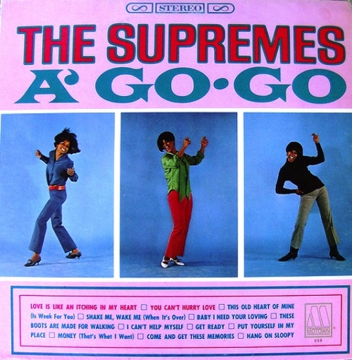 "The Supremes : Album "" A' Go-Go "" Motown Records MS 649 [ US ]"