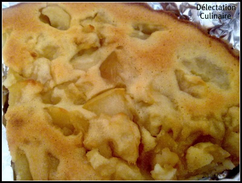 Gâteau aux pommes léger