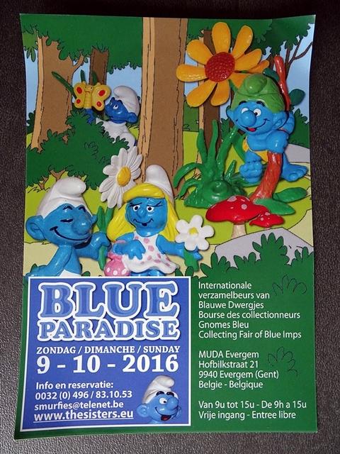 publicité pour la blue paradise 2016