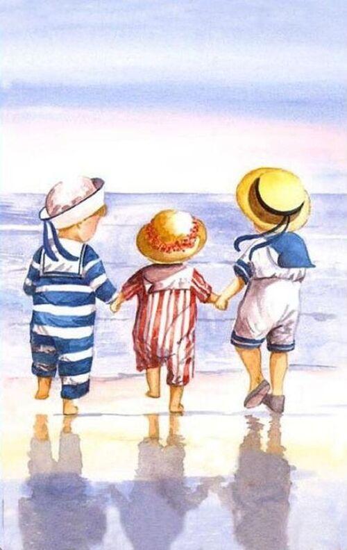 Enfants en vacances (2)