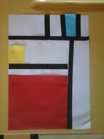 Musette Souricette - Piet Mondrian et Keith Haring