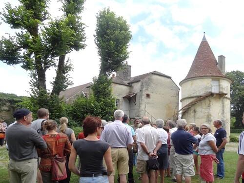 Visites à Quémigny sur Seine pour les Amis du canton d'Aignay le Duc
