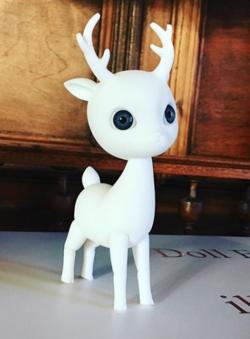 petit cerf sans makeup