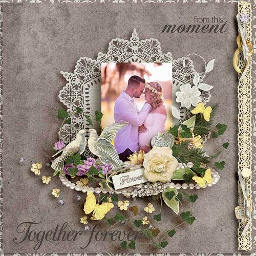 Wedding Day by dentellescrap