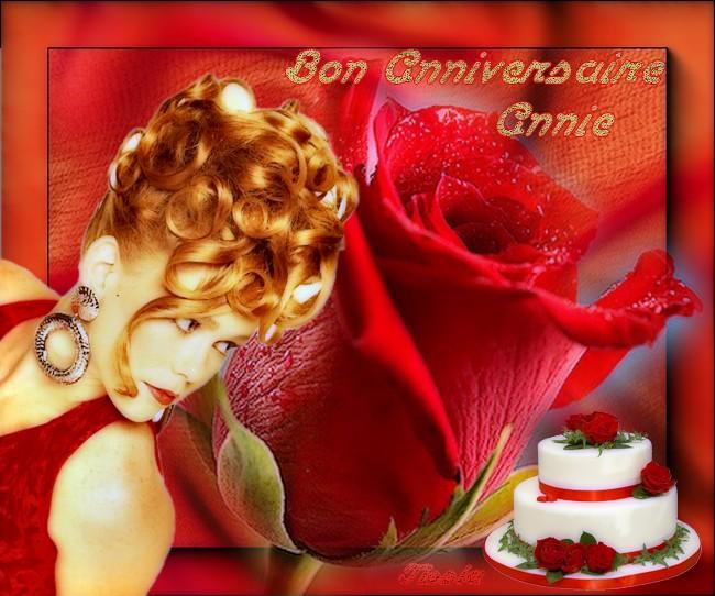 Bon Anniversaire Annie Tissia