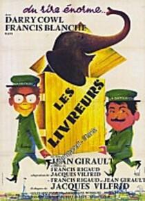 LES LIVREURS BOX OFFICE FRANCE 1961