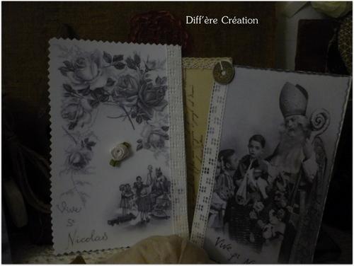 Cartes de la Saint Nicolas