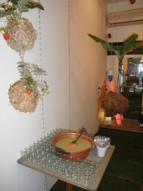 buffet au vert