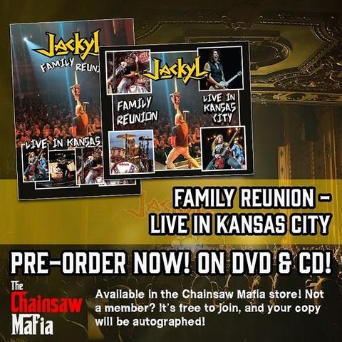 JACKYL - Les détails du DVD/CD live Family Reunion – Live In Kansas City